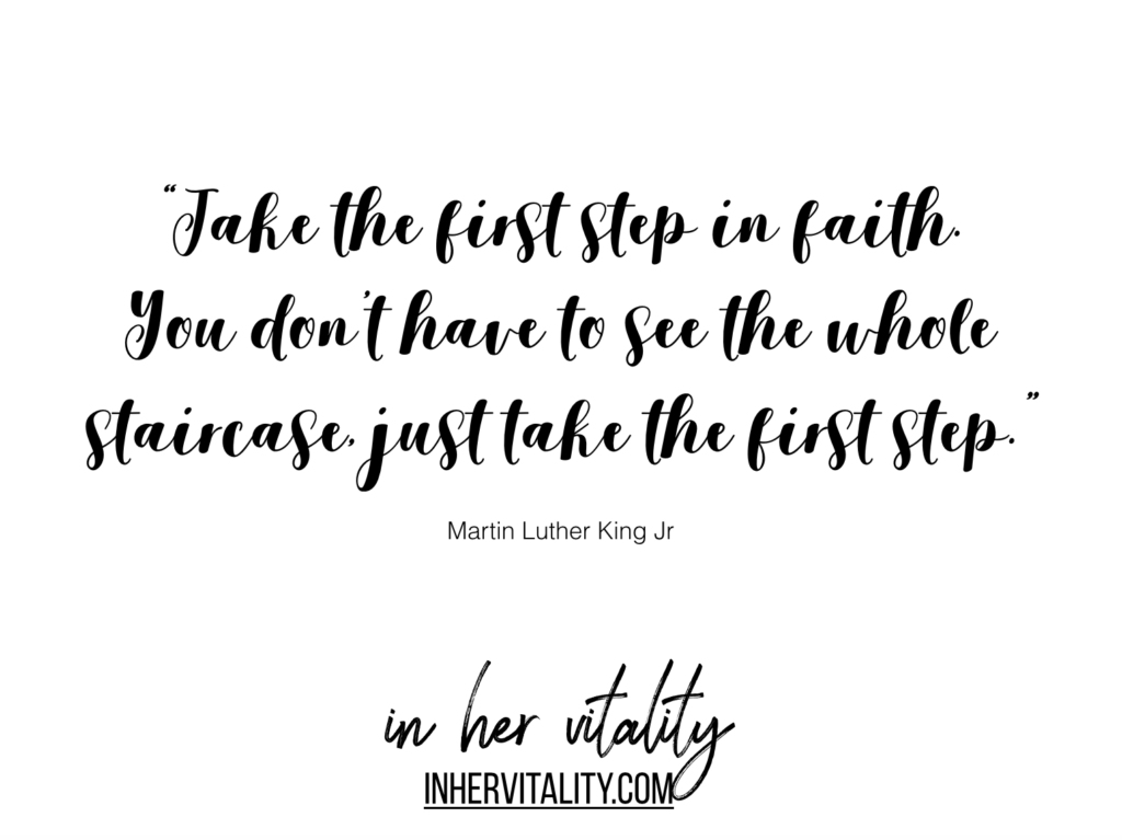 Inspirational Martin Luther King quote